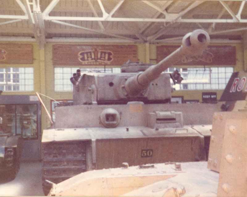 Tiger tank in RAC Tank Museum
