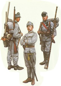 Austrian infantry 1914-1915
