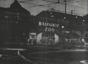 Bahnhof Zoo during blackout