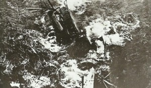 Steamer sinks after torpedo strike