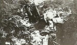 Steamer sinks after torpedo strike