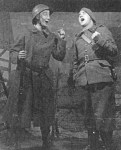 theatrical show staged by the garrison of one of the French Maginot Line fortress