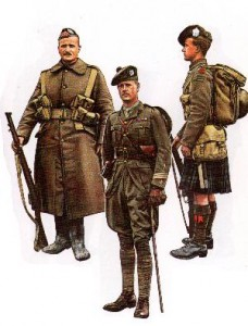 Scottish soldiers 1914-1918