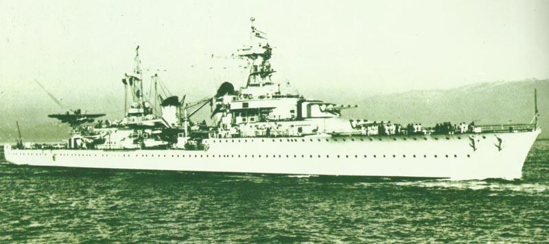 light cruiser 'La Galissonnière'