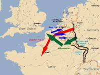 Map Manstein plan