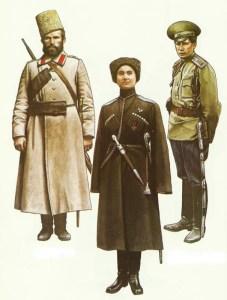 Russia Cossacks 1914-1917
