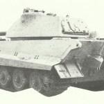Rear view PzKpfw VI Ausf B