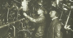 Engine room German U-boat