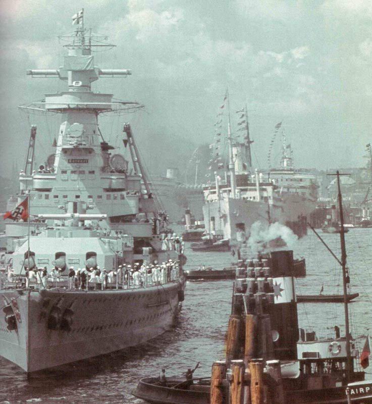German Kriegsmarine At The Beginning Of World War Ii