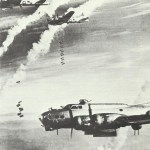 B-17 on attack on Berlin