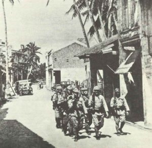 Japanese patrol on Guam