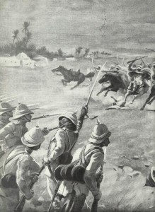 Arab tribes are attacking British soldiers