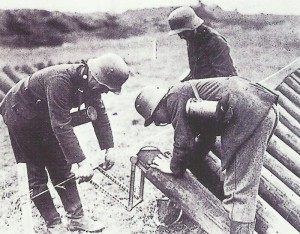 preparing a gas attack