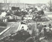 offensive of the 6th SS Panzer Army to Budapest is brought to a halt