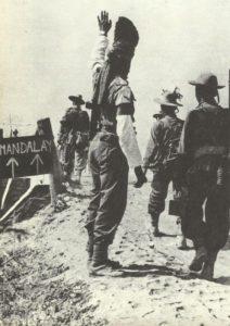 Gurkha troops near Mandalay