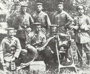German machine-gun 'Scharfschützen Kompanie'