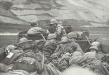 US troops crossing the Rhine