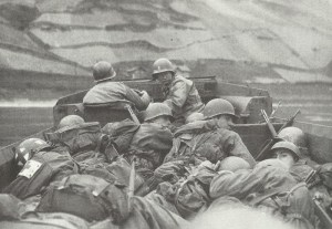 US troops crossing the Rhine