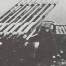 BM-13N in action with German troops.
