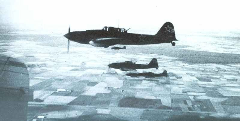 Manoevrable, incredibly tough and with devastating forward-firing armament, the Il-2 was no easy prey even for Luftwaffe fighters. These are rear-gunned models in 1944.