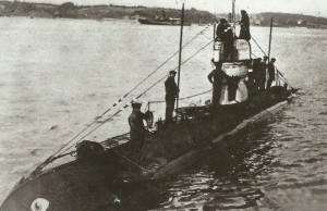 mine-laying submarine UC-1