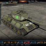3D model of T-34-85E