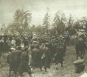 Captured French soldiers