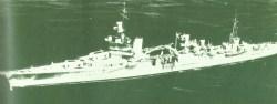 heavy US cruiser Indianapolis