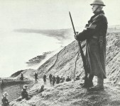Volunteers from the Home Guard
