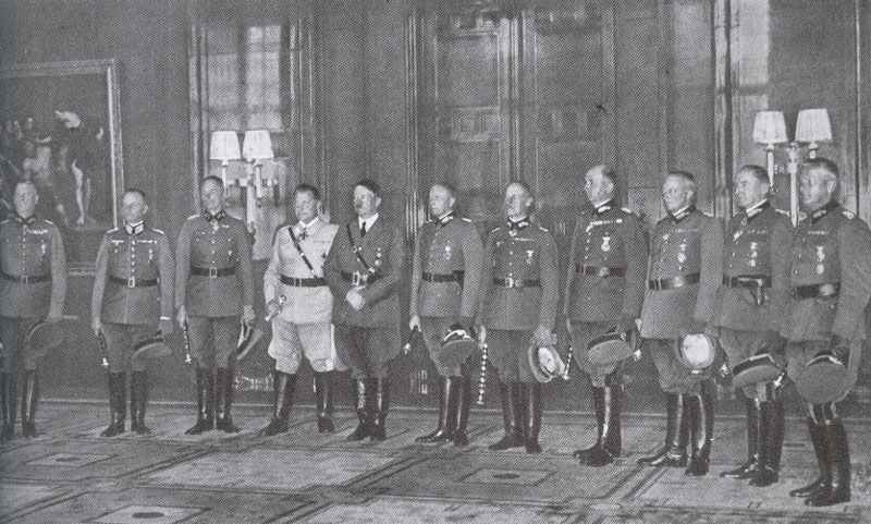 Führer with the newly created Field Marshals