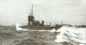 British sub E1