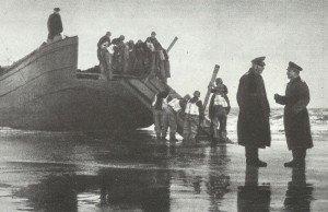 German landing exercise