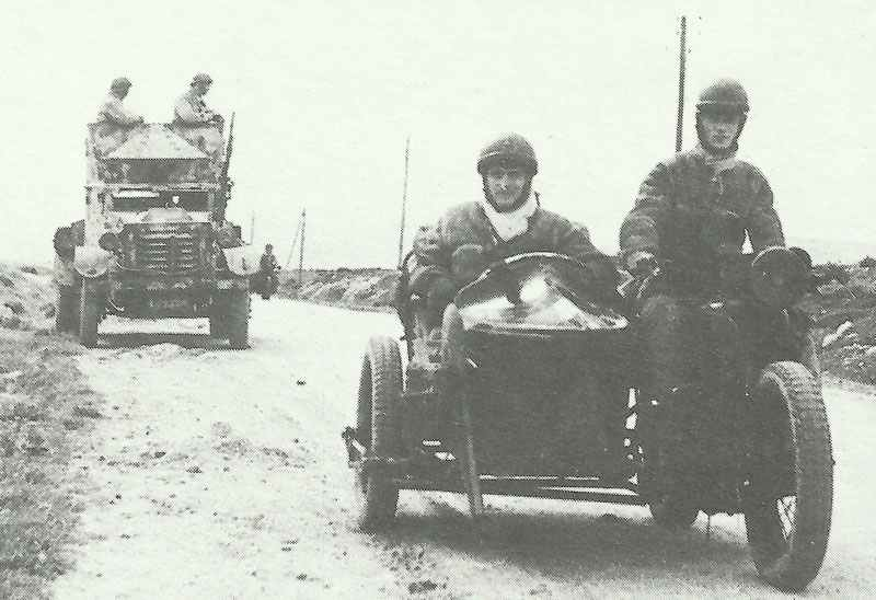 Free-French patrol in Tunisia