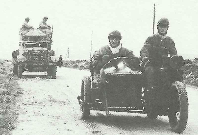 Free-French patrol in Tunisia