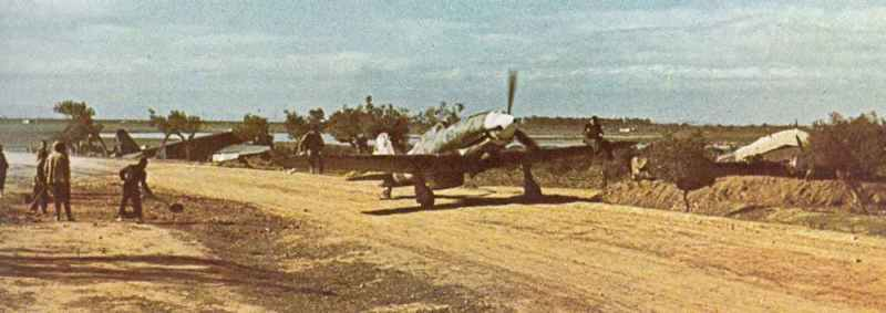 Macchi C.202 Folgore taxiing out