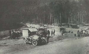 German aid station in the Vosges
