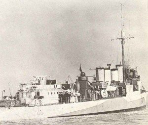 Flush-deck destroyer Lincoln