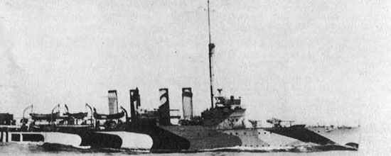 Fairfax, a Wickes-class destroyer