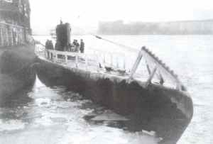 Finnish submarine 'Vetihinen'