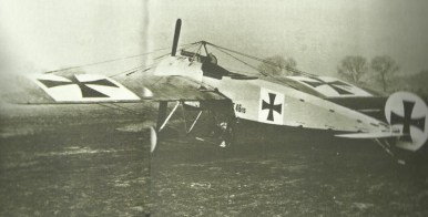 Fokker single-seat fighter EI