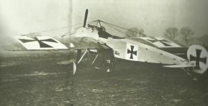 Fokker single-seat fighter EI