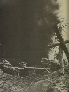 Russian machine-gunners