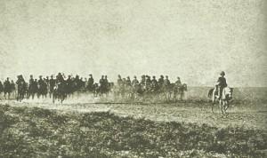 British advance  toward Turkish-held Kut-el-Amara