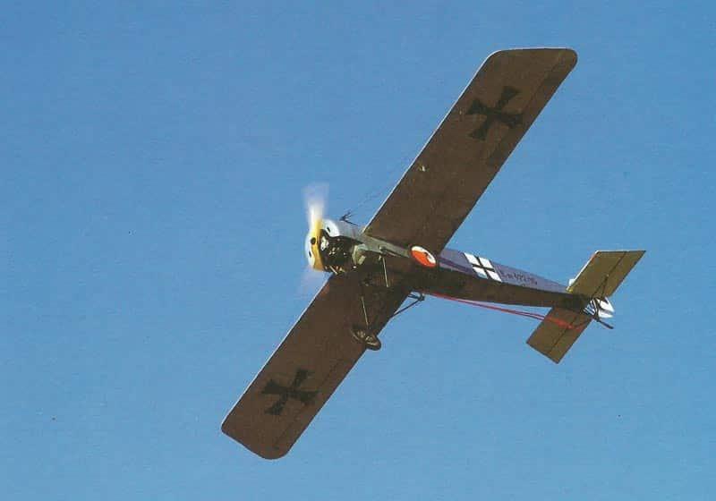 reconstructed Fokker EIII
