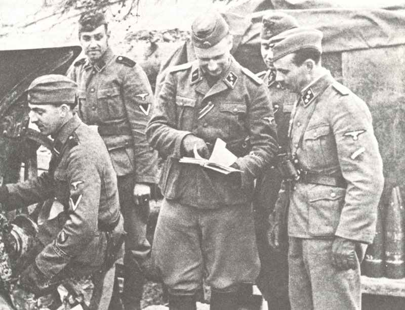 Waffen-SS divisions 13-19 > WW2 Weapons