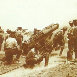 British 60-pounder heavy field gun