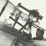 Lewis machine-gun on Nieuport