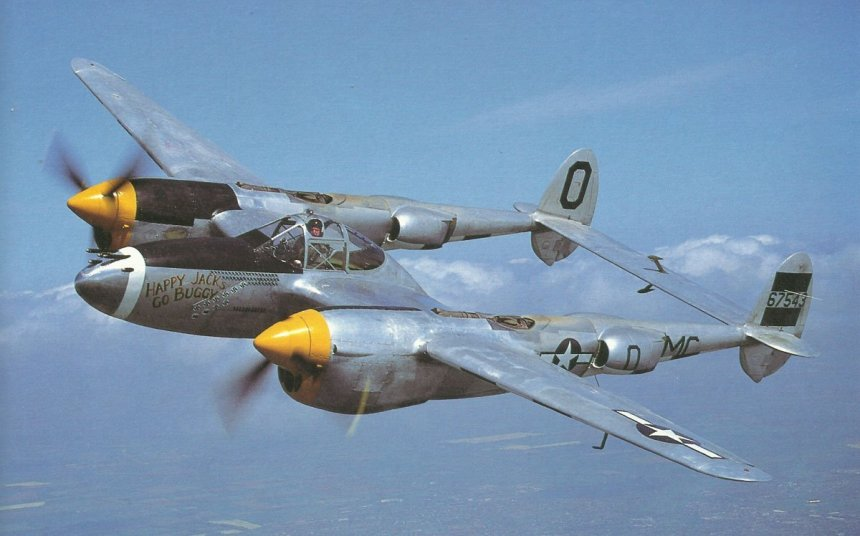 Lockheed P-38J Lighting