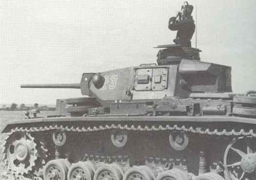 Panzer III J or L.