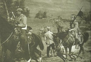 German cavalry at Serbia